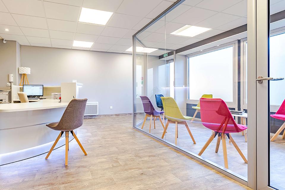 Accueil et Salle d attente - Dentiste Orléans