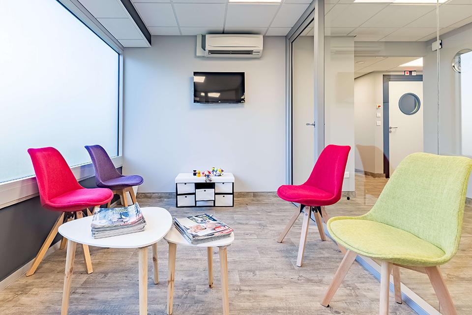 Salle d attente du cabinet - Dentiste Orléans