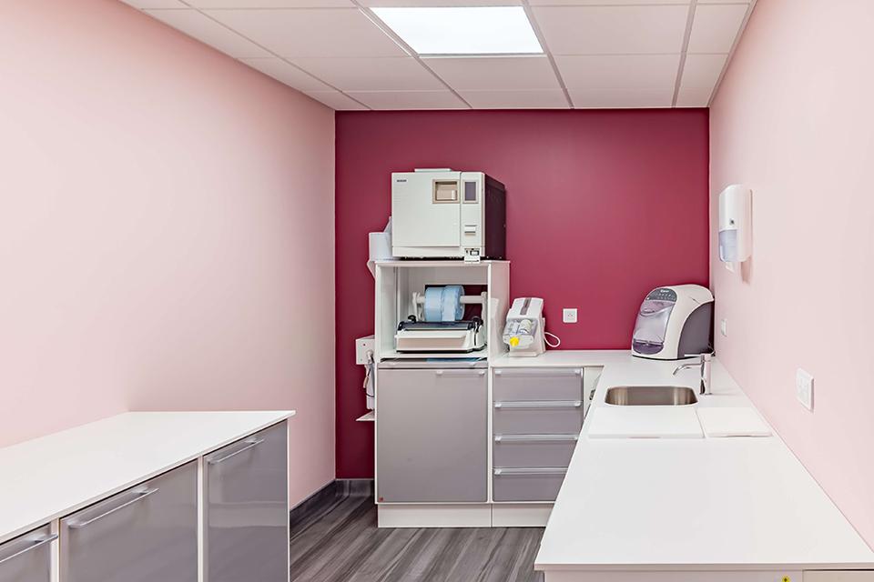 Salle de sterilisation du cabinet - Dentiste Orléans