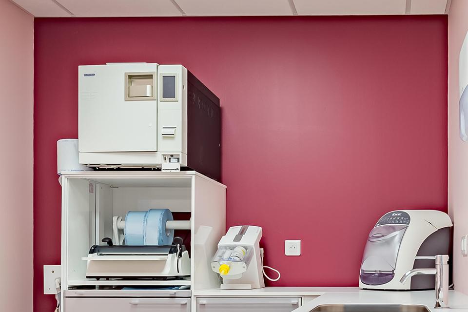 Salle de sterilisation - Dentiste Orléans